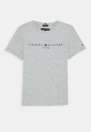 ESSENTIAL TEE  - T-shirt con stampa - grey