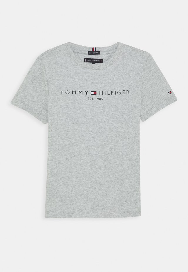 ESSENTIAL TEE  - T-shirt print - grey