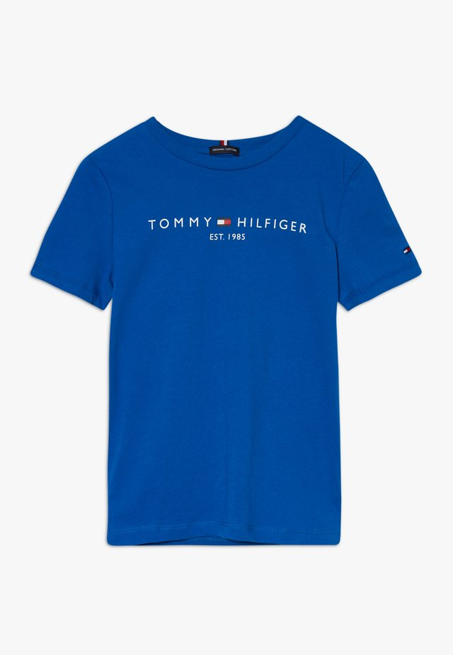 ESSENTIAL TEE  - T-shirt med print - blue