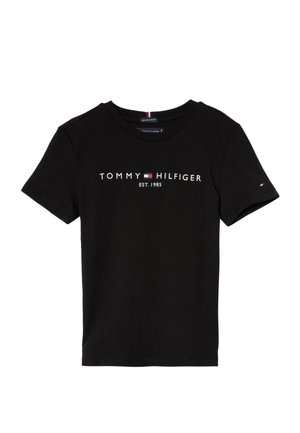 ESSENTIAL TEE  - T-shirt con stampa - black