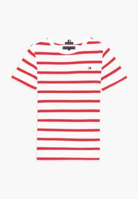 Tommy Hilfiger - NAUTICAL STRIPE - T-shirt print - red - 0
