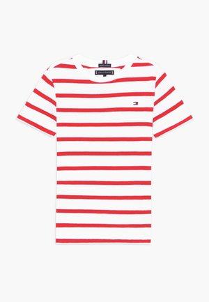 NAUTICAL STRIPE - Camiseta estampada - red