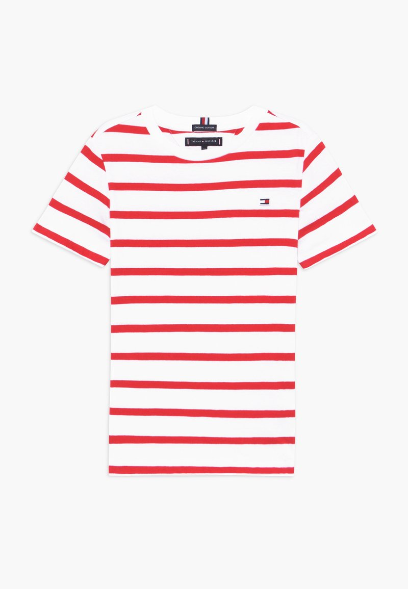 Tommy Hilfiger - NAUTICAL STRIPE - T-shirt print - red