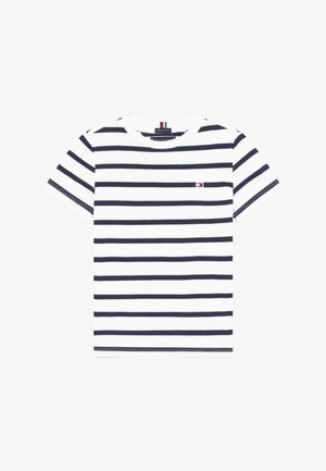 NAUTICAL STRIPE - Camiseta estampada - blue