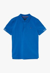Tommy Hilfiger - SLEEVE TEXT  - Poloshirt - blue - 0