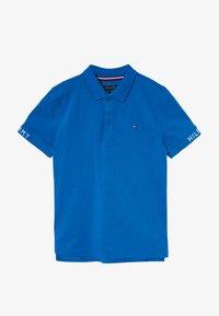 Tommy Hilfiger - SLEEVE TEXT  - Poloshirt - blue - 2