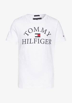 ESSENTIAL LOGO - T-shirt med print - white