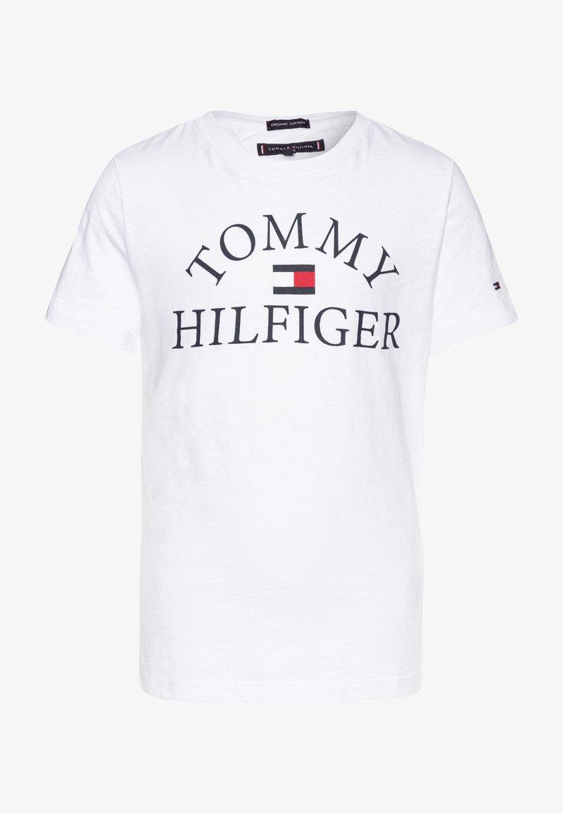 Tommy Hilfiger - ESSENTIAL LOGO - T-shirt print - white