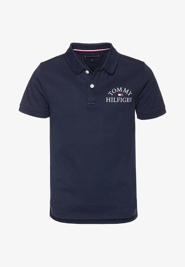 ESSENTIAL LOGO CHEST - Polo shirt - blue