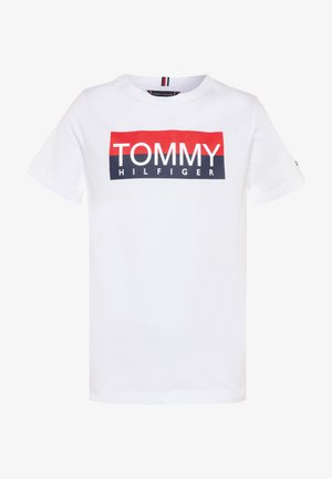 REFLECTIVE TEE  - Camiseta estampada - white