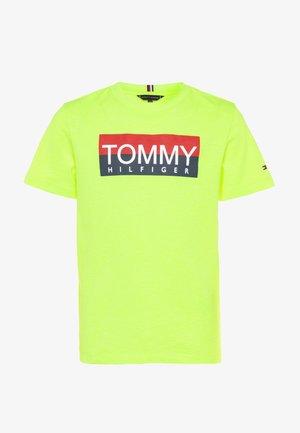 REFLECTIVE TEE  - Camiseta estampada - yellow