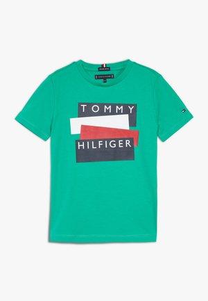 STICKER TEE  - Print T-shirt - green