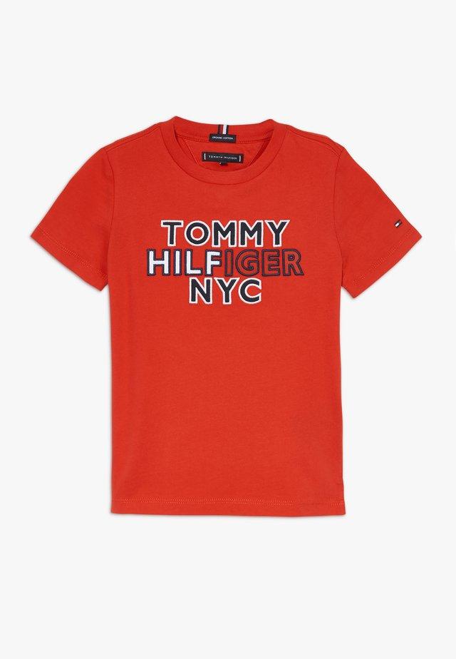 GRAPHIC TEE  - Camiseta estampada - red