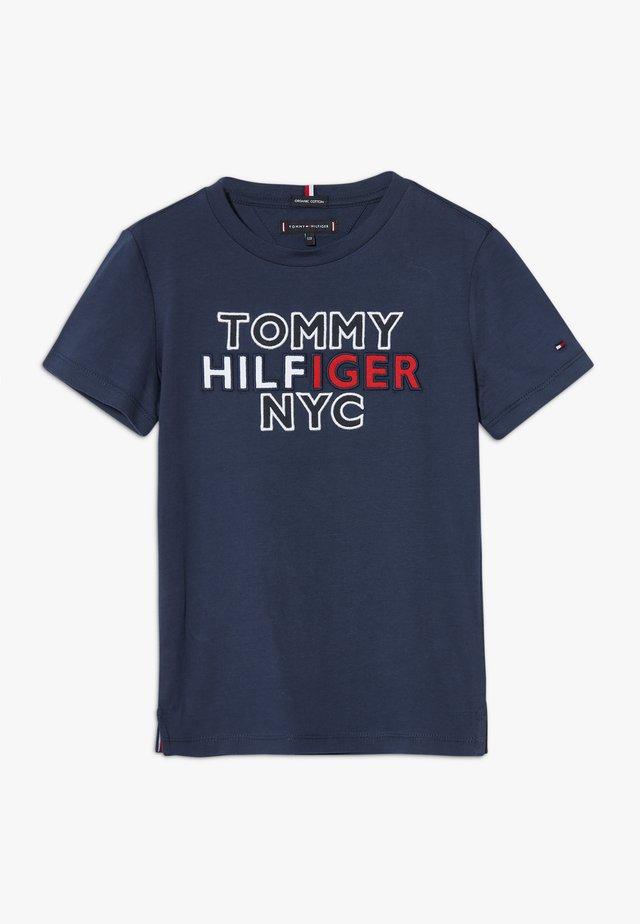 GRAPHIC TEE  - T-shirt print - blue