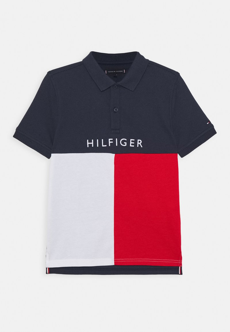 Tommy Hilfiger - COLORBLOCK - Poloshirt - blue