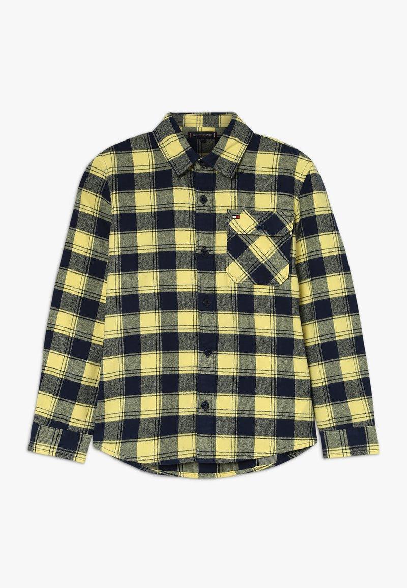Tommy Hilfiger - CHECK - Shirt - yellow