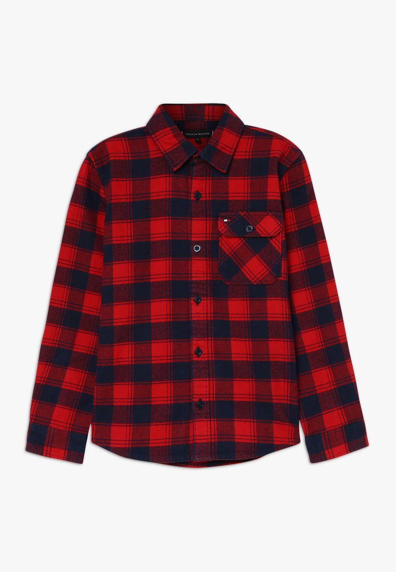 Tommy Hilfiger - CHECK - Shirt - red