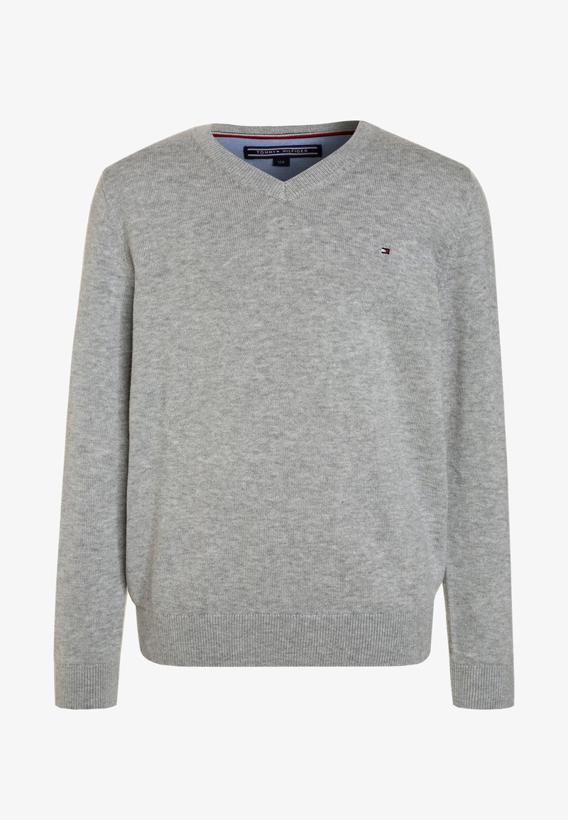 Tommy Hilfiger - BOYS BASIC - Jumper - grey heather