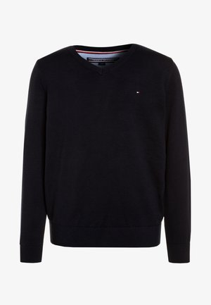 BOYS BASIC - Strikpullover /Striktrøjer - sky captain