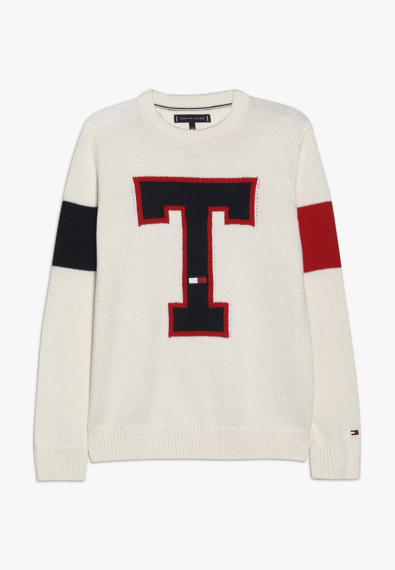 Tommy Hilfiger - BADGE  - Pullover - off-white