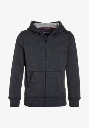 BOYS BASIC ZIP HOODIE - Felpa aperta - sky captain
