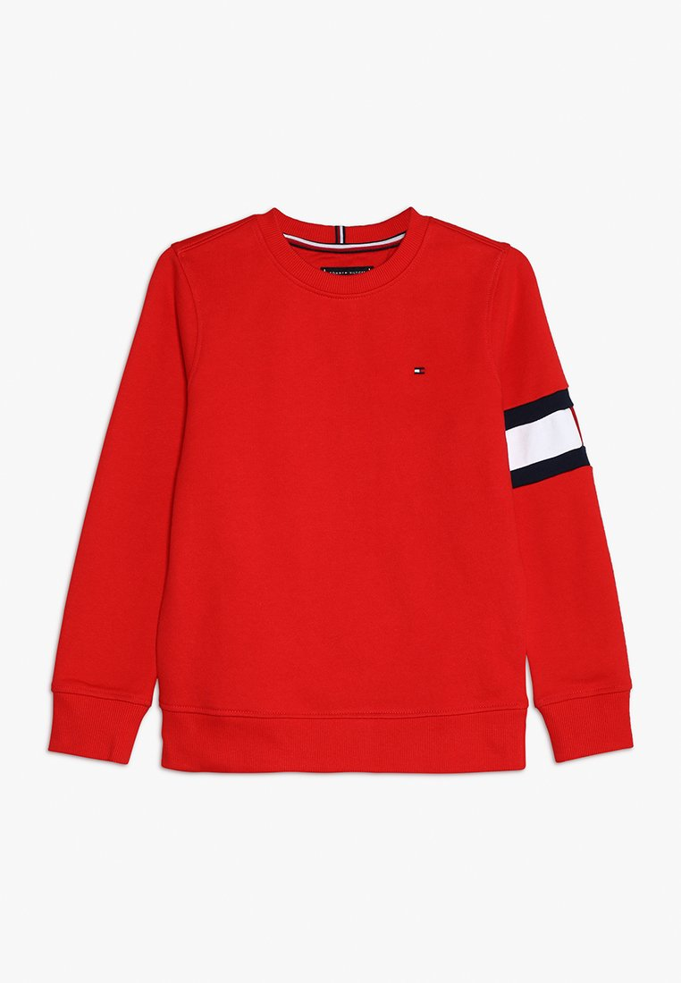 Tommy Hilfiger - CUT SEW FLAG  - Sweater - red