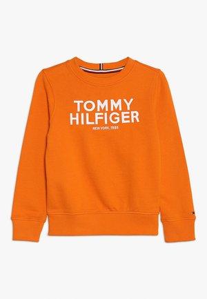 LOGO - Sweatshirt - orange