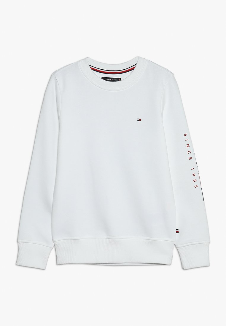 Tommy Hilfiger - FLAGS INTERLOCK CREW - Sweatshirt - white