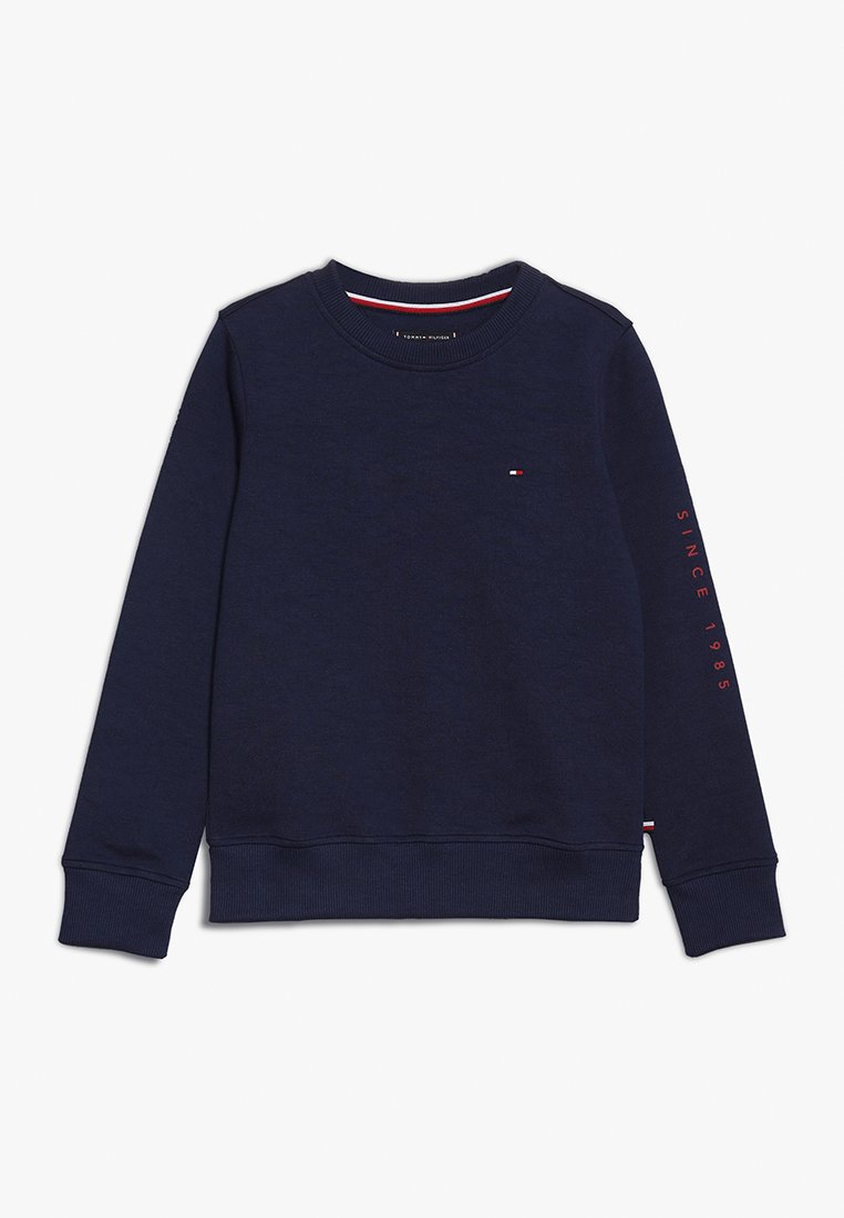 Tommy Hilfiger - FLAGS INTERLOCK CREW - Sweatshirt - blue