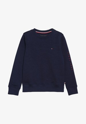 FLAGS INTERLOCK CREW - Sweater - blue