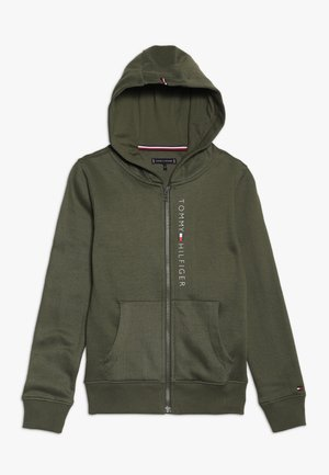 ESSENTIAL FULL ZIP HOODIE  - Zip-up hoodie - green