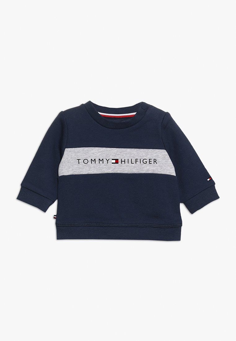 Tommy Hilfiger - BABY LOOPBACK  - Sweatshirt - black iris