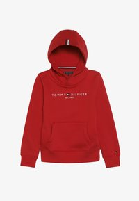 Tommy Hilfiger - ESSENTIAL HOODIE - Mikina s kapucí - red - 3