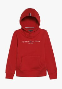 Tommy Hilfiger - ESSENTIAL HOODIE - Mikina s kapucí - red - 0