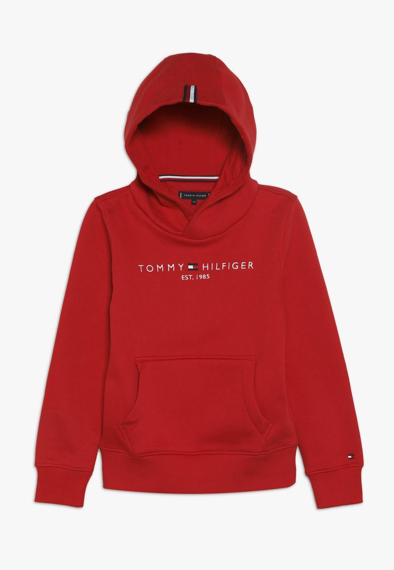 Tommy Hilfiger - ESSENTIAL HOODIE - Mikina s kapucí - red