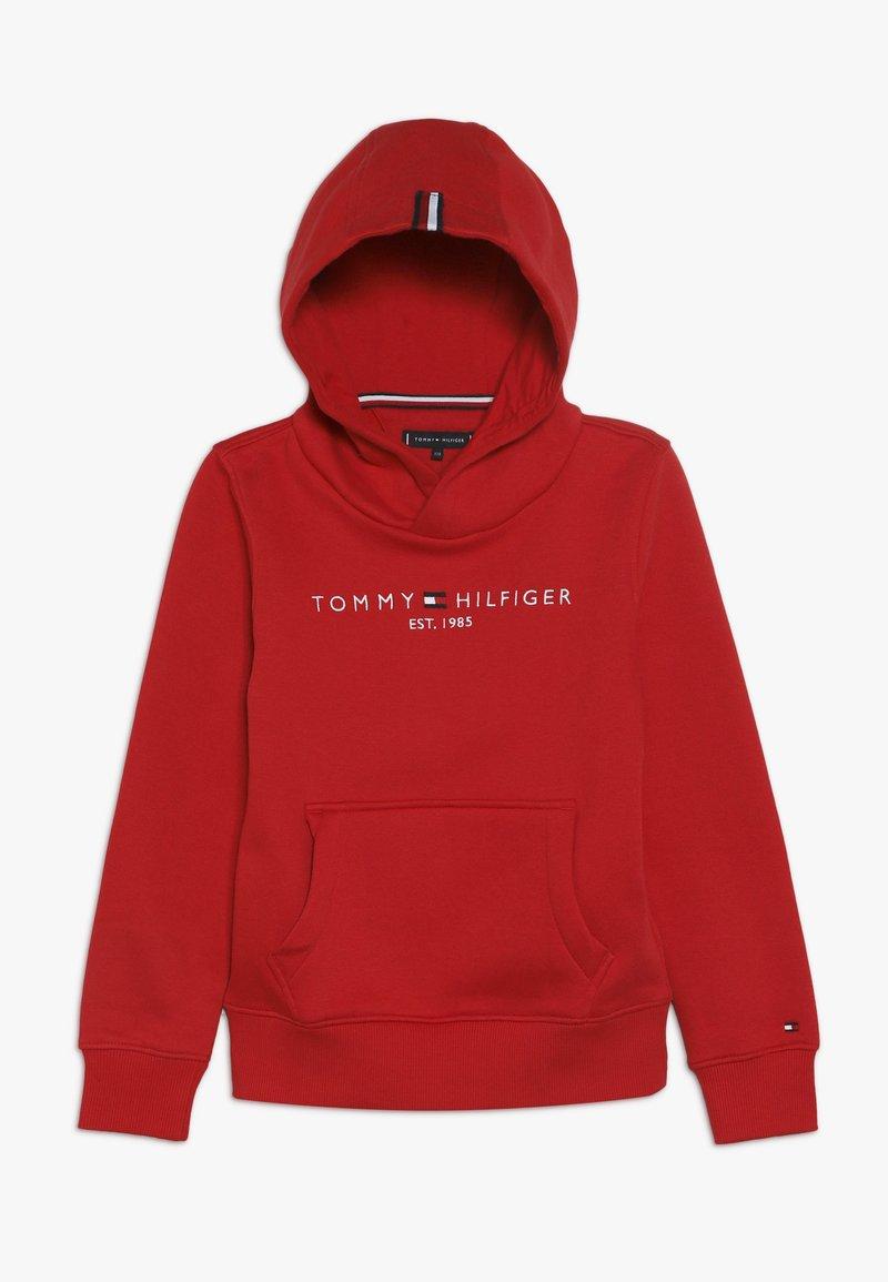 Tommy Hilfiger - ESSENTIAL HOODIE - Bluza z kapturem - red