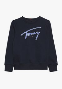 Tommy Hilfiger - ESSENTIAL SIGNATURE - Bluza - blue - 0