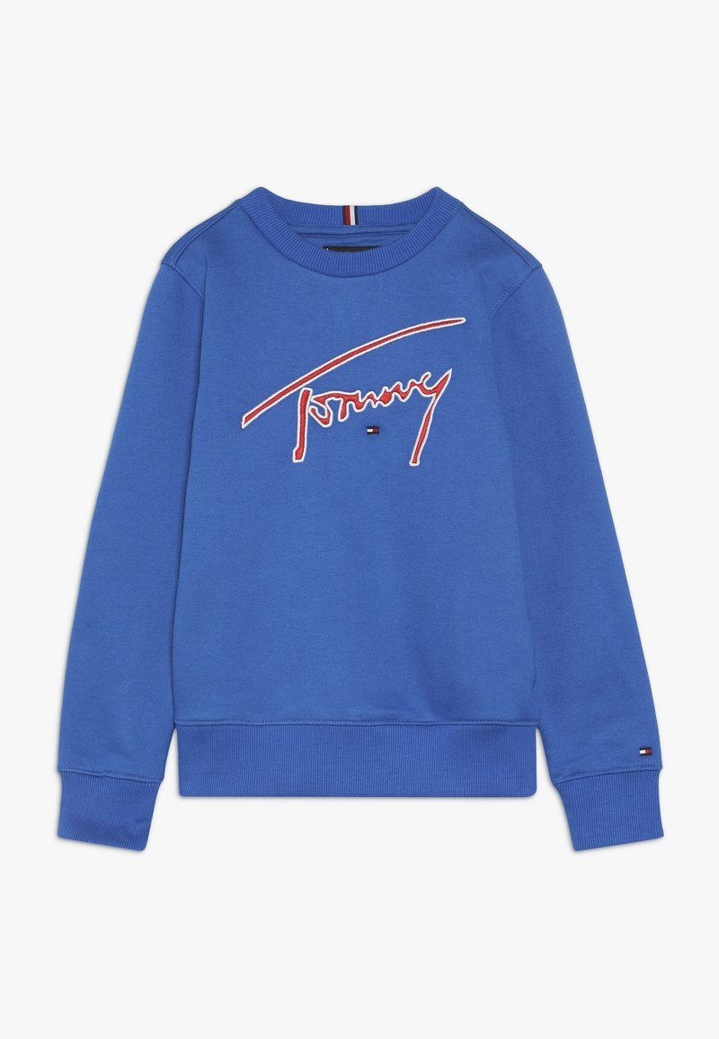 Tommy Hilfiger - ESSENTIAL SIGNATURE - Collegepaita - blue
