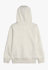 Tommy Hilfiger - ESSENTIAL SIGNATURE HOODED ZIP - Mikina na zip - off-white - 1