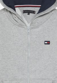 Tommy Hilfiger - COLORBLOCK HOODED ZIPTHROUGH - Mikina na zip - grey - 4
