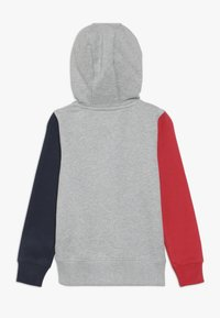 Tommy Hilfiger - COLORBLOCK HOODED ZIPTHROUGH - Mikina na zip - grey - 1