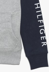 Tommy Hilfiger - COLORBLOCK HOODED ZIPTHROUGH - Mikina na zip - grey - 2