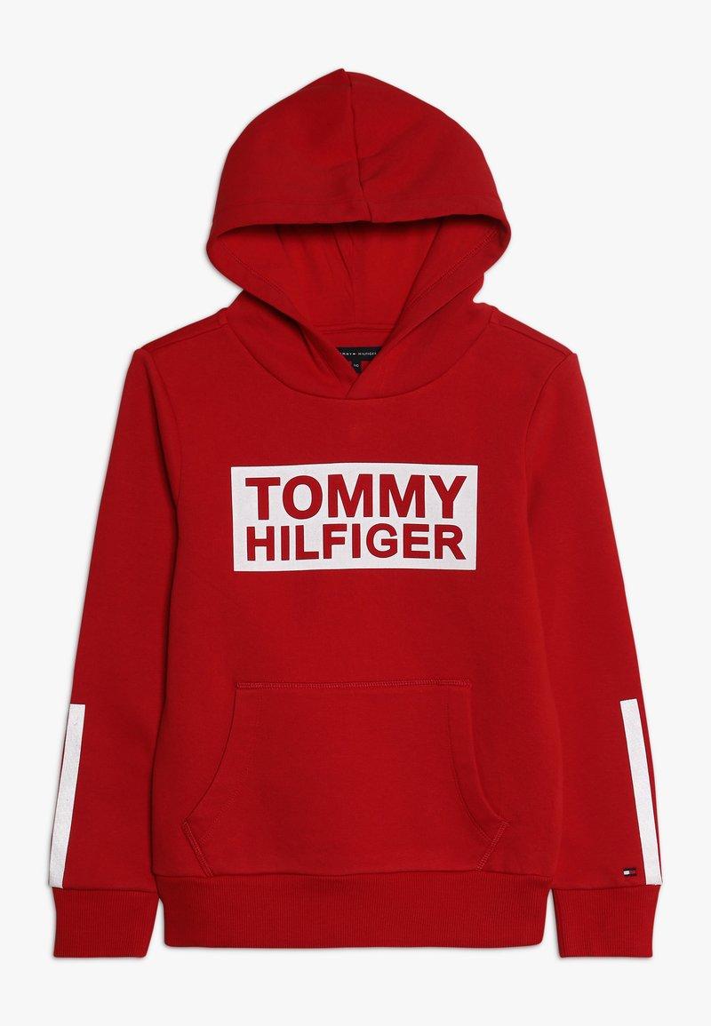 Tommy Hilfiger - SPECIAL HOODIE - Bluza z kapturem - red
