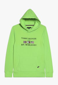 Tommy Hilfiger - HOODIE - Jersey con capucha - green - 0