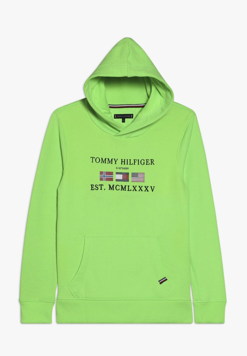 Tommy Hilfiger - HOODIE - Jersey con capucha - green