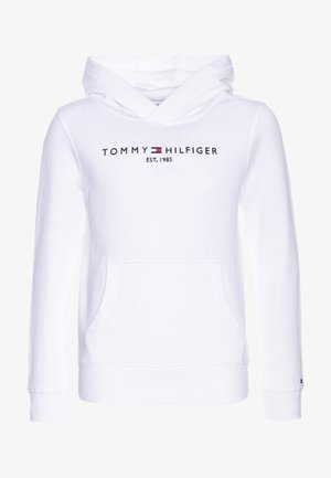 ESSENTIAL HOODIE - Mikina s kapucí - white