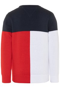 Tommy Hilfiger - COLORBLOCK  - Svetr - blue - 1