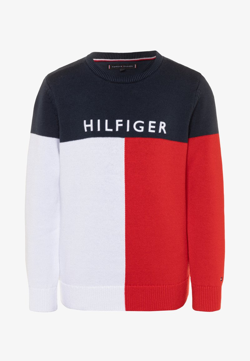 Tommy Hilfiger - COLORBLOCK  - Svetr - blue