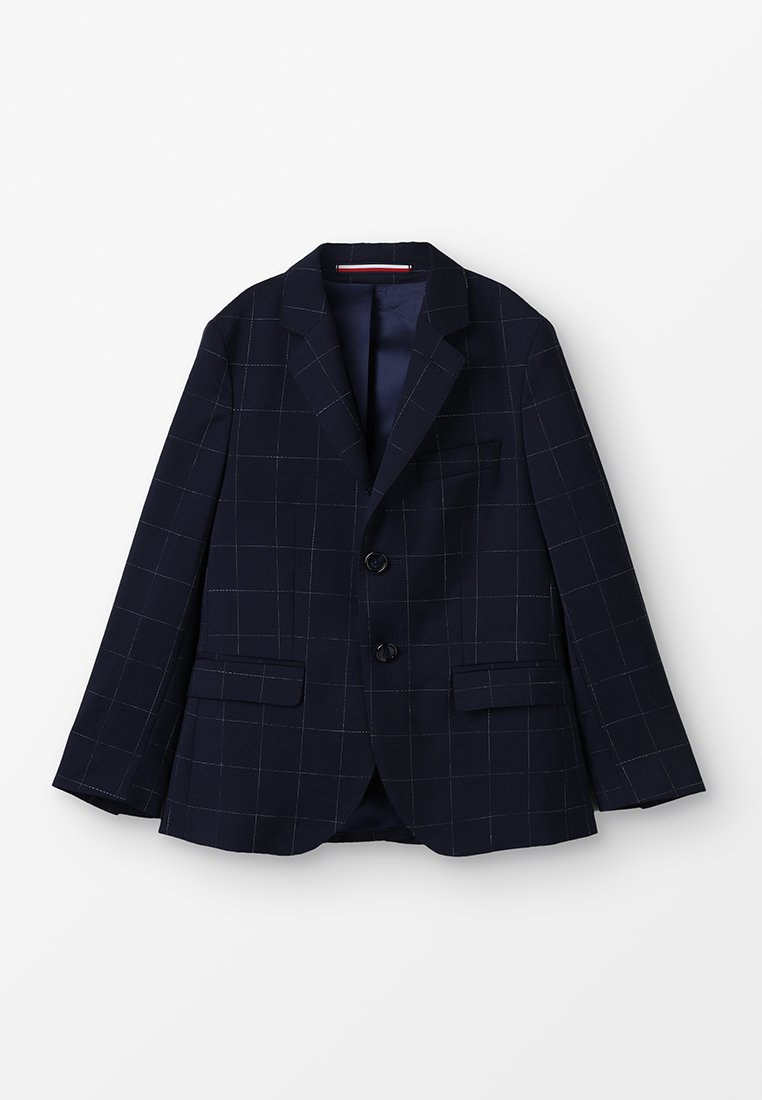 Tommy Hilfiger - CHECK REG FIT SEPARATE - Sakko - blue