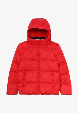 ESSENTIALS JACKET - Untuvatakki - red